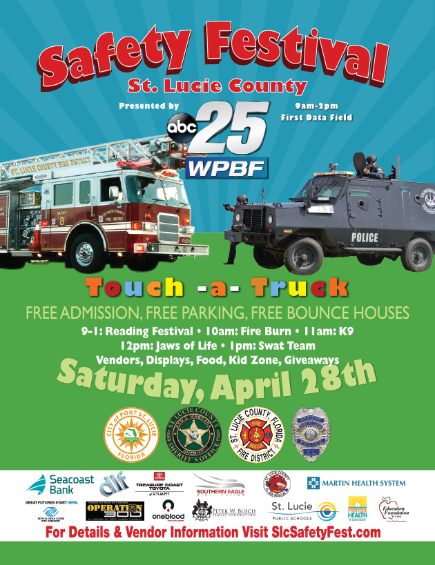 St. Lucie County Safety Festival Flyer