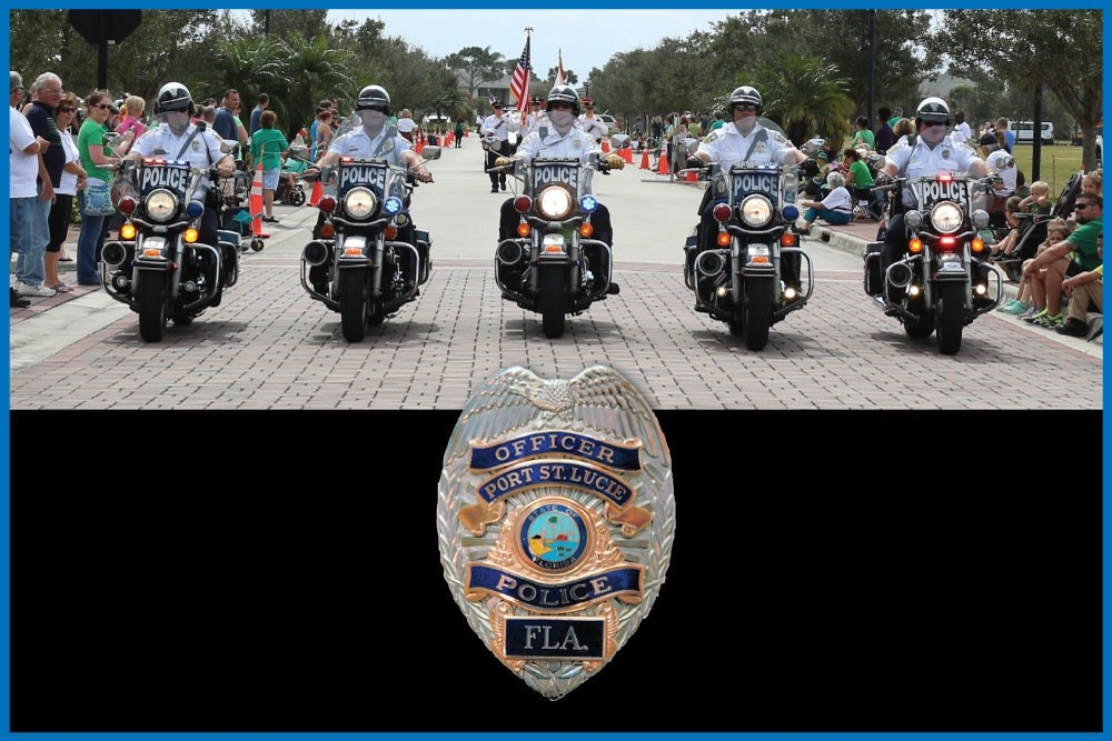 Port St. Lucie Police Departments Motorcycle Unit