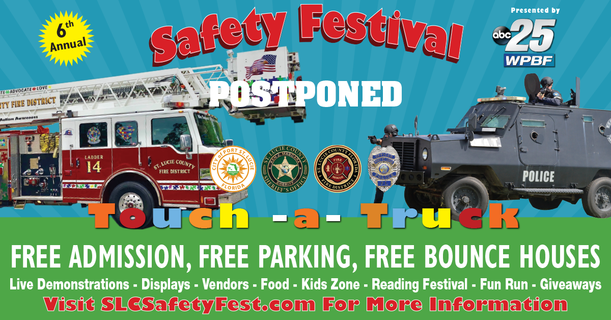 SLC Safety Fest Postponed